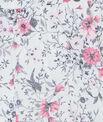 Jupe floue à fleurs