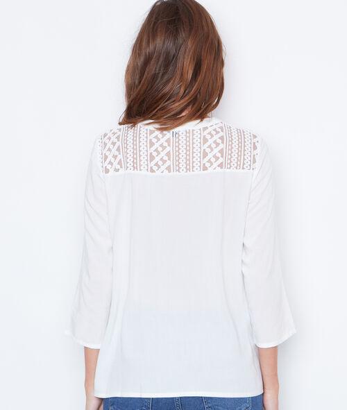 3/4 sleeve blouse