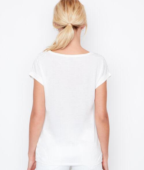 T-shirt à détail sérigraphique