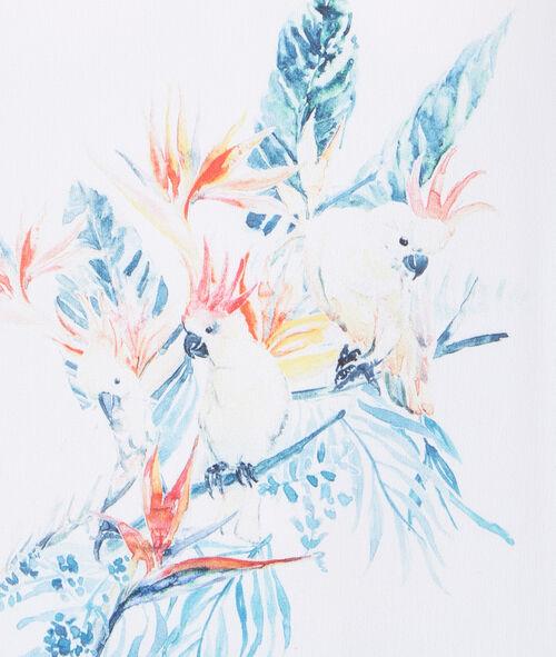 Débardeur imprimé perroquet
