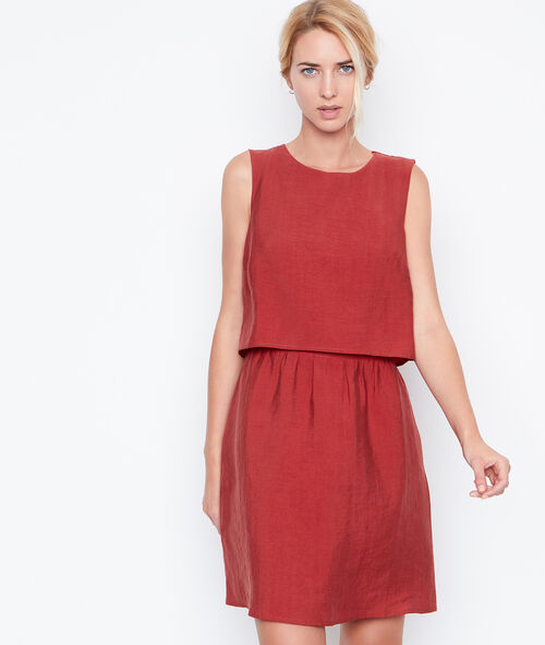 Open back dress