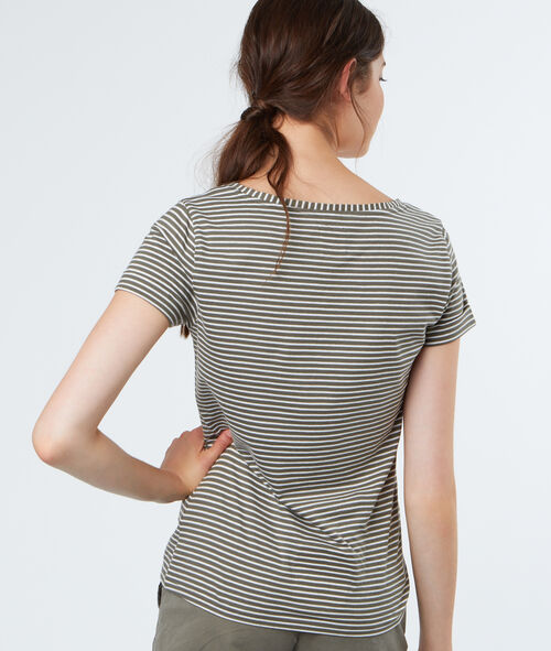 Cotton stripped t-shirt