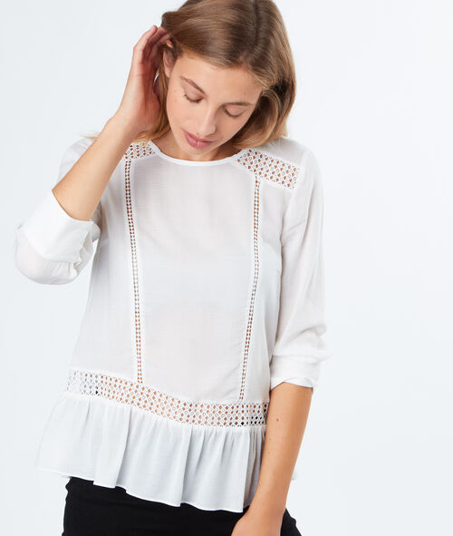 3/4 sleeves blouse
