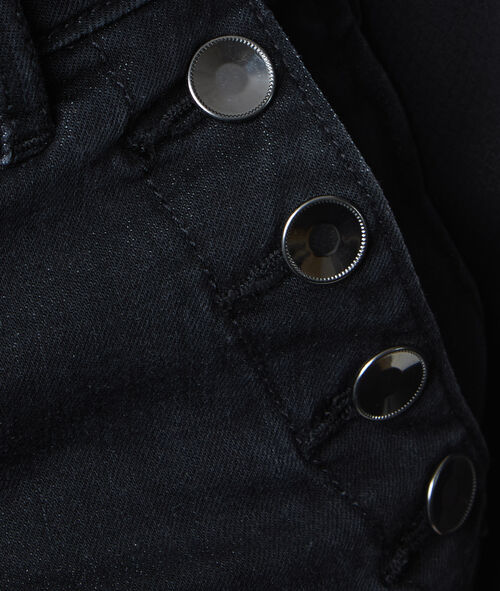Pantalon évasé boutonné