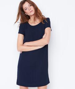 Short sleeve dress navy.