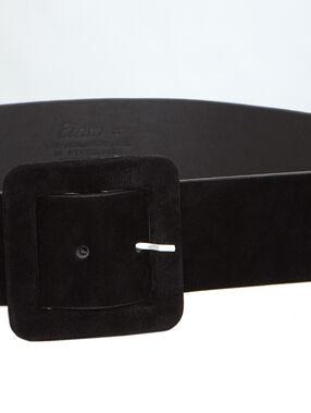 Large belt black.