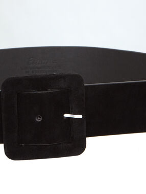 Large belt black.