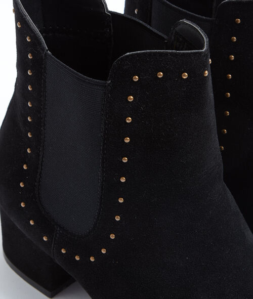Bottines cloutées