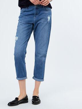 Boyfriend jeans blue.