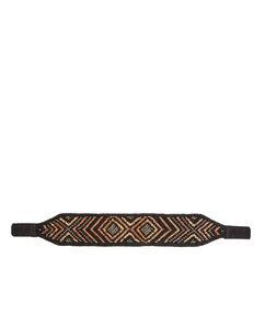Beaded belt multicolor.