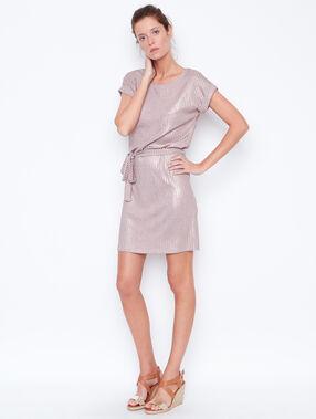 Kleid kupfer.