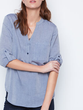 3/4 sleeve blouse navy.