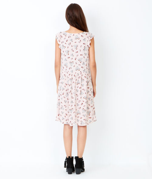 Flare dress in floral print