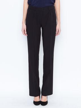 Flare pants black.
