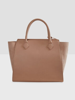 Medium size bag beige.