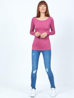 T-shirt pink.