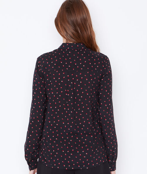 Strawberry printed shirt