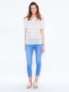 Capri skinny jeans medium denim.