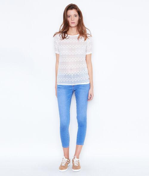 Pantacourt skinny en jean