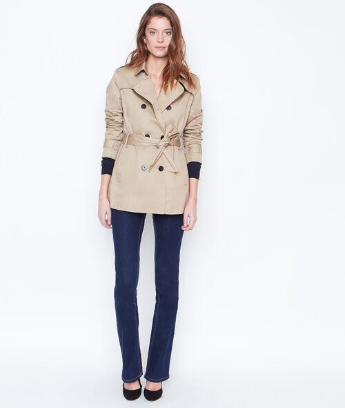 3/4 trench coat