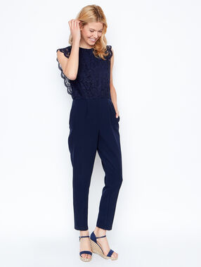 Jumpsuit navy.