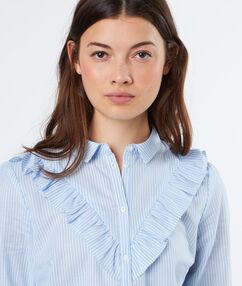 Hemd blau.
