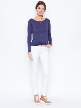 Slim jeans white.