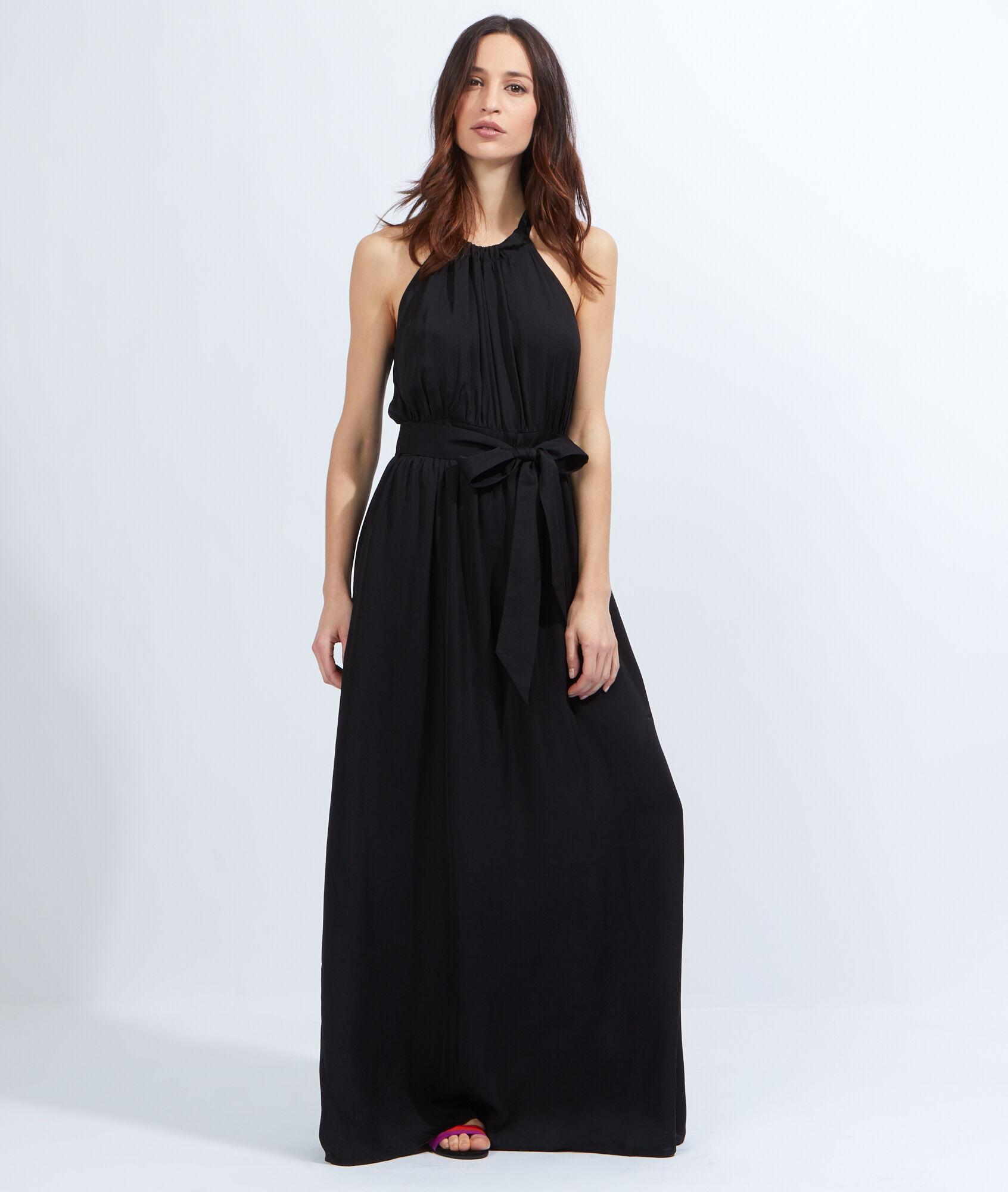 robe longue voile. Black Bedroom Furniture Sets. Home Design Ideas
