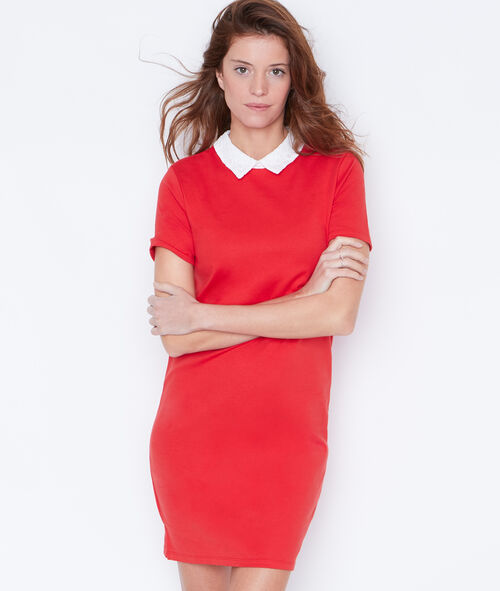 Dress with Peter Pan collar