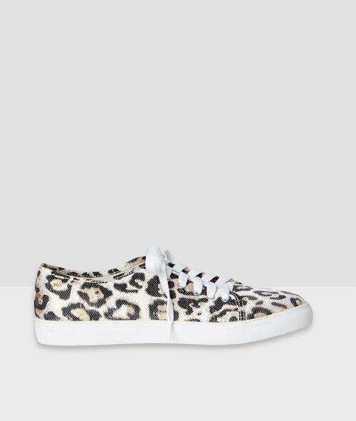Baskets imprimées leopard