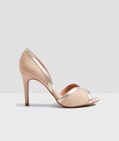 Heel court shoes coral.