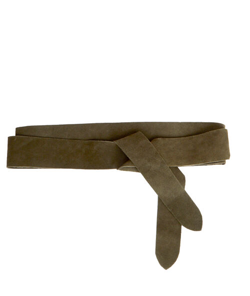 Ceinture en croûte de cuir