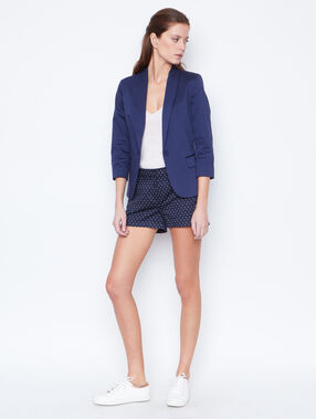 3/4 sleeves blazer navy.