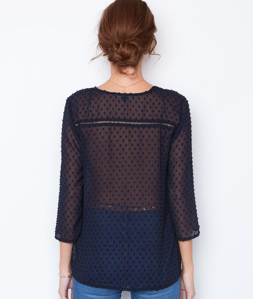 Plumetis blouse