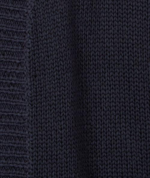 Long cardigan, chunky knit