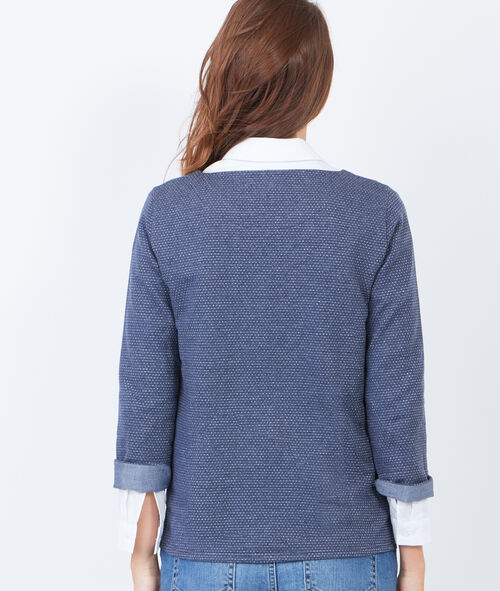 Dotty 3/4 sleeve sweater