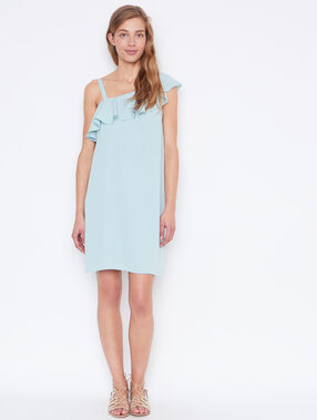 Flowing dress lightblue.