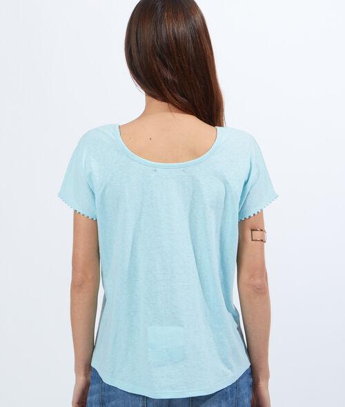 Guipure cotton top