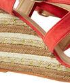 Sandales à talons compensés fantaisies