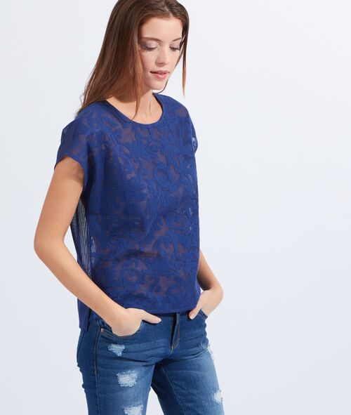 Baroque lace top