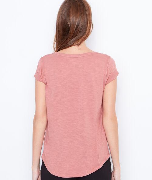 T-shirt manches courtes à col rond