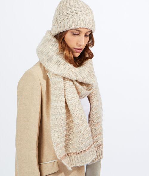 Bonnet tricot lurex