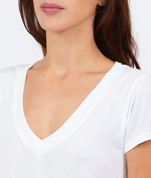 T-shirt col V