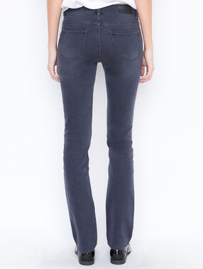 Straight jeans anthracite grey.