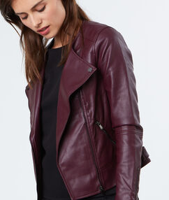 Perfecto jacket plum.