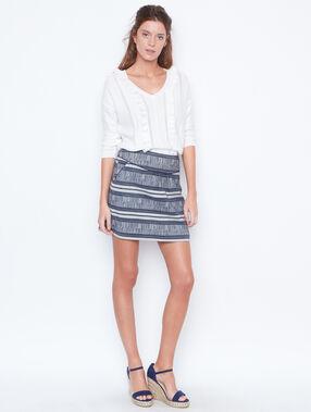 Skirt navy.