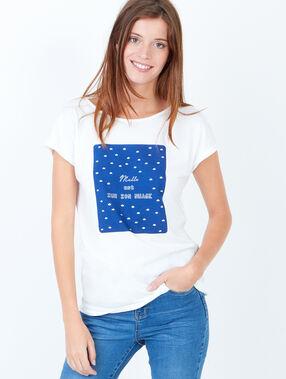 Print t-shirt white.
