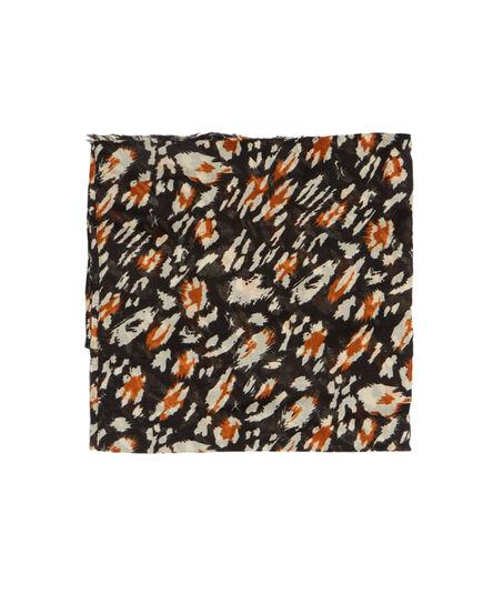 LYOFoulard imprimé léopard graphique