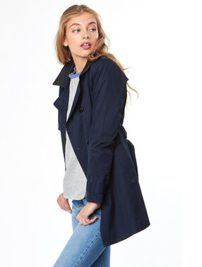Trench marineblau.