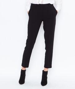 Cigarette trousers black.